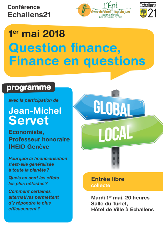 """Question finance, Finance en questions"""