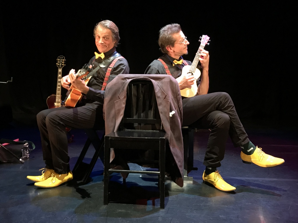 Mercedi 18.9 20h30 : Spectacle ''Trio à deux'' Bonfils & Torel chantent et racontent Ricet Barrier